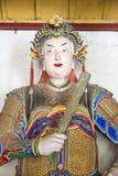 HENAN, CHINA - Oct 30 2015: Statue of Zhuge Liang at Nanyang Mem Royalty Free Stock Image