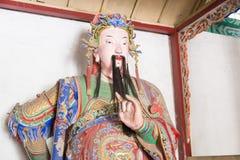 HENAN, CHINA - Oct 30 2015: Statue of Zhuge Zhan at Nanyang Memo Royalty Free Stock Photo