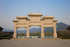 Free Henan, China`s Famous Tourist Attraction, Shaolin Temple, Songshan. Stock Image - 89940351