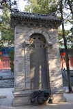 Henan, China`s famous tourist attraction, Shaolin Temple, Songshan. Royalty Free Stock Image