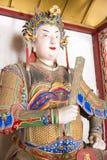 HENAN, CHINE - 30 octobre 2015 : Statue de Zhuge Shang chez Nanyang Mem Photographie stock