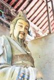 HENAN CHINY, Oct, - 27 2015: Statua Ma Liang przy Xuchang Guandi Obraz Stock