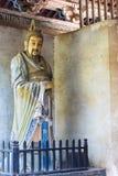 HENAN CHINY, Oct, - 27 2015: Statua Ma Liang przy Xuchang Guandi Zdjęcie Royalty Free