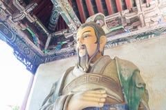 HENAN CHINY, Oct, - 27 2015: Statua Ma Liang przy Xuchang Guandi Zdjęcie Stock