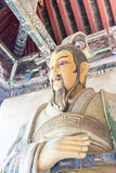 HENAN CHINY, Oct, - 27 2015: Statua Ma Liang przy Xuchang Guandi Obraz Royalty Free