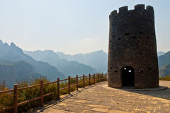 Henan Guo Liang film base watchtower Royalty Free Stock Images