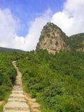 Henan Jiaozuo Qinglong landskap Arkivbilder