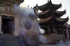 Henan Kina: Forntida byggnader Royaltyfri Foto