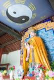 HENAN KINA - Juli 07 2015: Hertigen av Zhou Statue på Luoyang Z Royaltyfri Fotografi