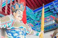 HENAN KINA - November 09 2015: Budda staty på den Shaolin templet (värld Royaltyfria Bilder