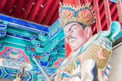 HENAN KINA - November 09 2015: Budda staty på den Shaolin templet (värld Royaltyfri Foto