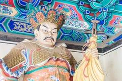 HENAN KINA - November 09 2015: Budda staty på den Shaolin templet (värld Royaltyfria Foton