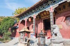 HENAN KINA - November 03 2015: Fawang tempel ett berömt historiskt sitter Royaltyfria Foton