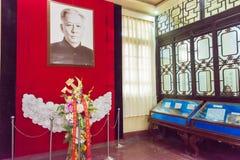 HENAN KINA - November 14 2015: Liu Shaoqi Memorial Hall av Kaifeng arkivfoto