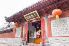 HENAN KINA - November 09 2015: Shaolin tempel (världsarv) Royaltyfria Bilder