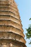 HENAN KINA - November 03 2015: Songyue pagod (UNESCOvärlden Heritag Royaltyfri Bild