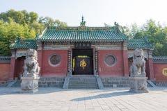 HENAN KINA - November 04 2015: Yongtai tempel en berömd historisk si Royaltyfria Foton