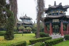 HENAN KINA - NOVEMBER 28 2014: Youlicheng en berömd historisk plats I Royaltyfri Bild