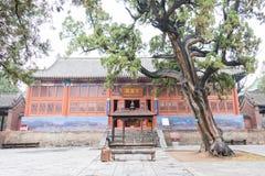 HENAN KINA - November 07 2015: Zhongyue tempel (världsarv) Royaltyfria Foton