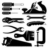 Hend tools stock illustration