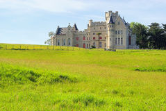 Hendaye Chateau d Abbadie. In France stock photography