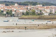 Hendaye, Francia Foto de archivo libre de regalías