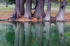 Henderson Creek, Ingram Texas imagem de stock royalty free
