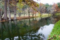 Henderson Creek, Ingram Texas Foto de archivo
