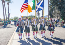 Henderson Saint Patrick-Parade Lizenzfreie Stockfotos
