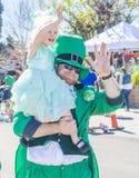 Henderson Saint Patrick-Parade Stockbilder