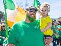 Henderson Saint Patrick-Parade Stockfoto