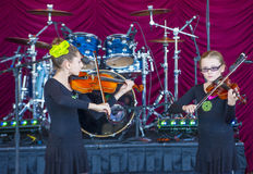 Henderson Saint Patrick-Parade Lizenzfreies Stockbild