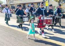 Henderson Saint Patrick parade Royalty Free Stock Photo