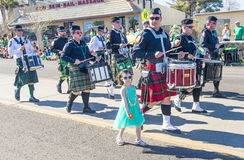 Henderson Saint Patrick parade Royalty Free Stock Images