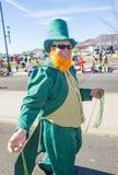 Henderson Saint Patrick ståtar Royaltyfria Foton