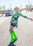 Henderson Saint Patrick ståtar Royaltyfria Bilder