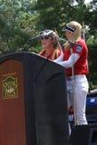 Henderson Sisters Hometown Speech Arkivfoton
