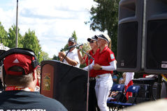 Henderson Sisters Hometown Speech Stock Photography