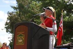 Henderson Sisters Hometown Speech Royalty Free Stock Photo