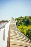 Henderson Waves Bridge Singapore Arkivbilder