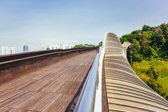 Henderson Waves Bridge Singapore Arkivbild