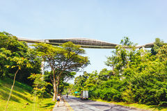 Henderson Waves Bridge, Singapur Stockfotos