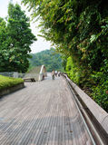 Henderson Waves is the highest pedestrian bridge in Singapore. stock images