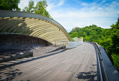 Henderson Waves Singapore. Henderson Waves in Southern Ridges Singapore Royalty Free Stock Photo