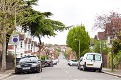 Hendon Central neighborhood in London Stock Photography