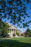 Hendricks Chapel in Syracuse University. Hendricks Chapel is situated in the middle of the Syracuse campus, perpendicular to the Quad. Built in 1930, Hendricks Royalty Free Stock Image