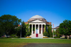 Hendricks Chapel in Syracuse University. Hendricks Chapel is situated in the middle of the Syracuse campus, perpendicular to the Quad. Built in 1930, Hendricks Stock Photography