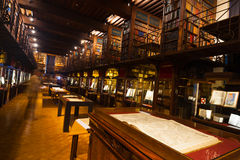 Hendrik Conscience Heritage Library Interior Tilt Royalty Free Stock Photos