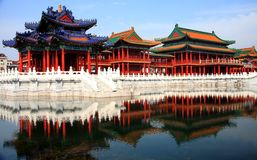 Hengdian movie and Television City,Jinhua,Zhejiang ,China Stock Photography