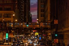 Henge Чикаго стоковое изображение rf